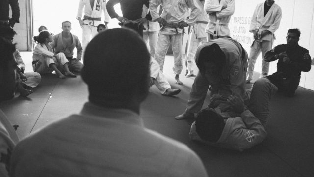 The Art of Learning the Cross Collar Choke