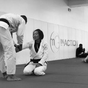 Emily Kwok training at MGA